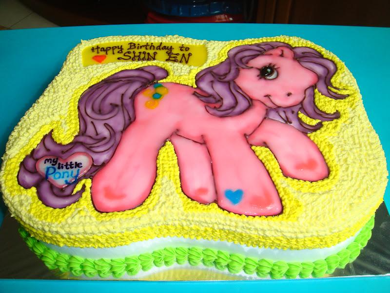 Yummy Baking My Little Pony Freshcream Cake D2