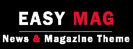 Easy Magazine Responsive Blogger Template