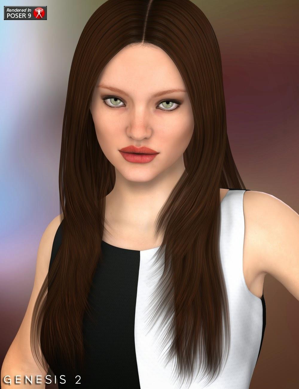 Roxanna cheveux pour Genesis 2 Femme