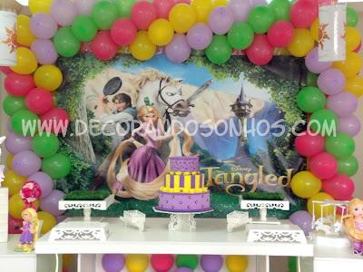 Rapunzel enrolados festa clean enrolados rapunzel enrolados festa