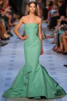 Дълга вечерна рокля в силует русалка Zac Posen