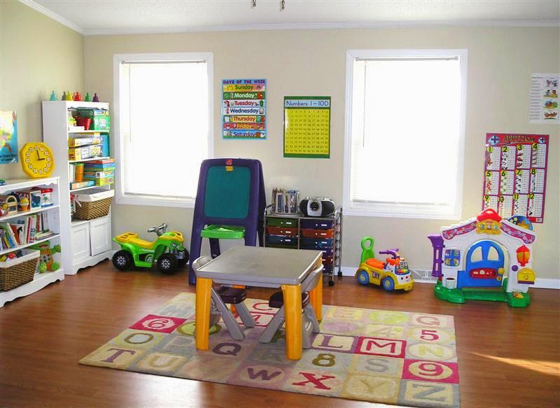 kumpulan gambar kamar bermain anak desain interior ruangan