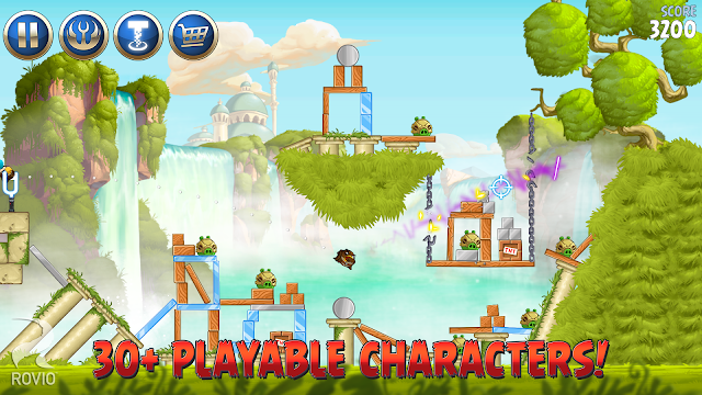 Download Angry Birds Star Wars II apk free