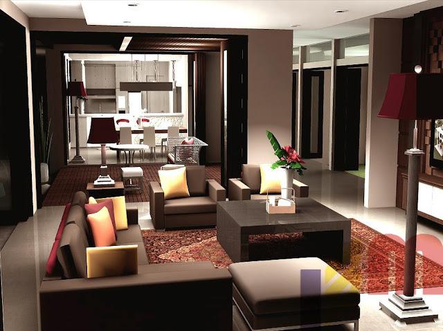 desain interior aparteman rumah minimalis