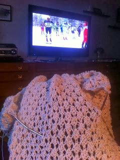 Amelia, Claire, Lace, wrap, shawl, sjal, trekanstsjal, bara räta maskor
