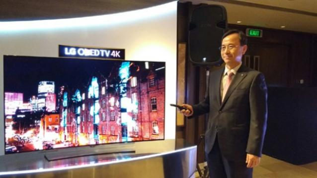 Update New Product Lauch : LG Launches 'World's First 4K OLED TV' In India Starting At $57923