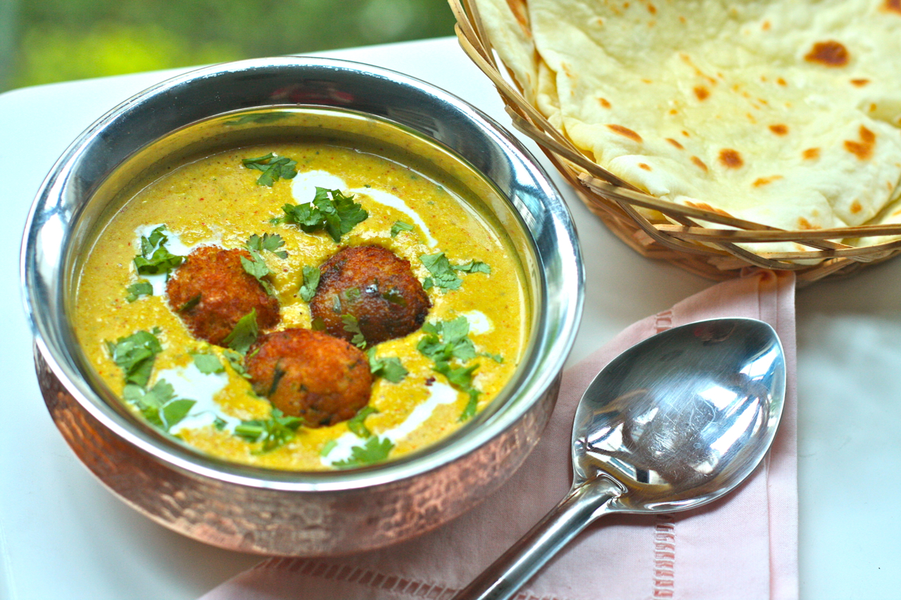 ... with malai kofta malai kofta with naan homemade naan with malai kofta