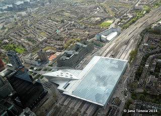 Rotterdam Station from above