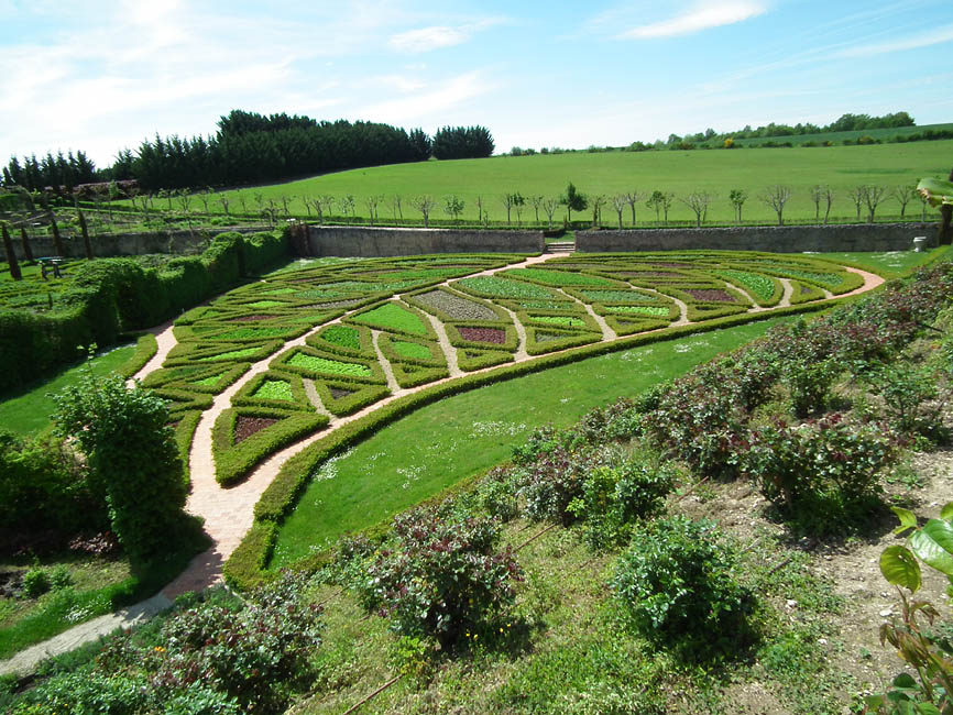 Loire Valley Time Travel French Potagers