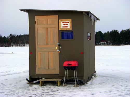 ellecoyote: Cabin Porn v. 2.0 ... ICE SHANTY PORN