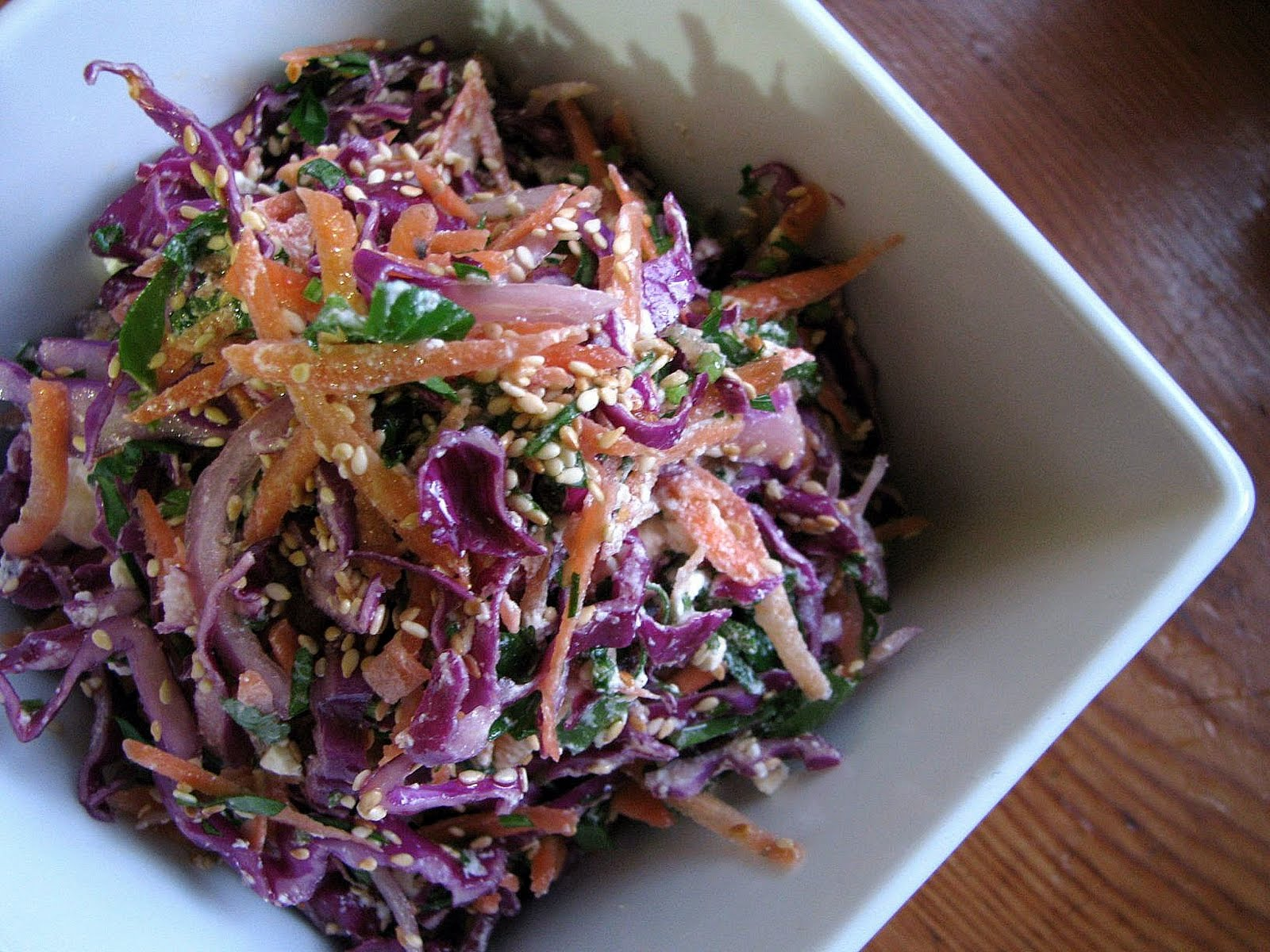 Red cabbage salad dressing recipes