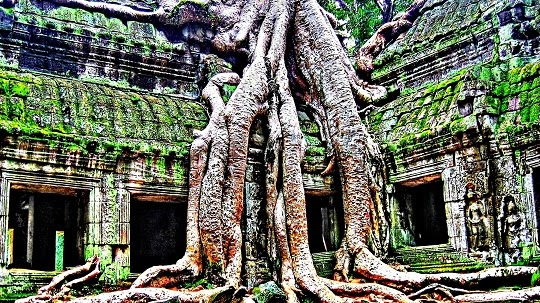 Melancong Dan Beramal Di Kemboja 'Kingdom of Wonder'
