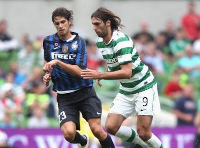 Inter-Celtic 1-1 highlights