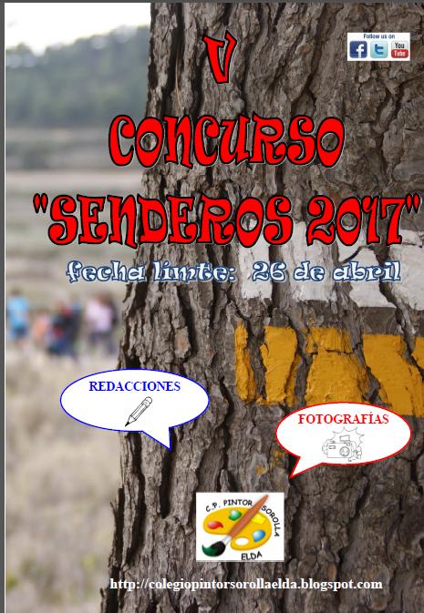 V CONCURSO SENDEROS 2017