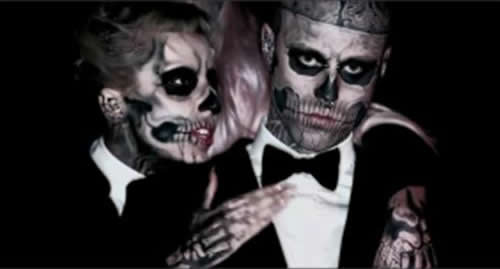 Lady Gaga Born This Way music video picture