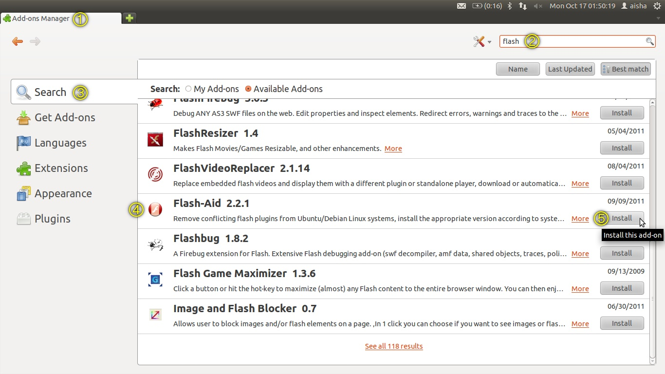 ubuntu digest how to solve flash problems on ubuntu 11 10