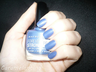 Maybelline Viva Blue Violet swatch review