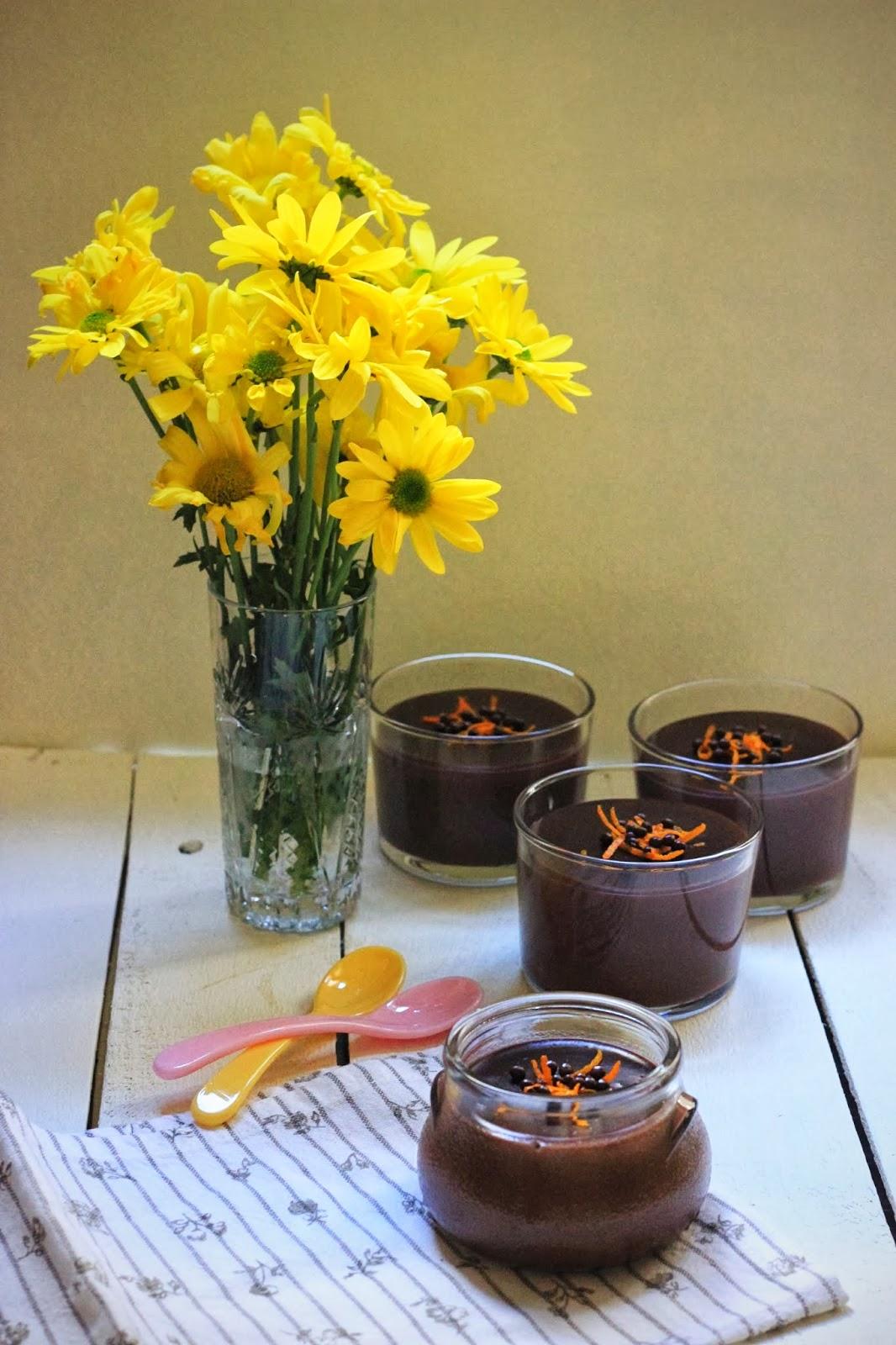 portakalli cikolatali puding 1