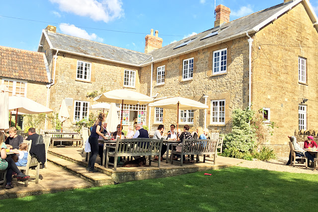 The Queen's Arms 5 star country inn in Corton Denham near Sherborne
