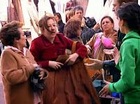 Carmen Machi y Amparó Baró ('Siete Vidas'), con Pilar Punzano y Juanjo Artero ('El Comisario')