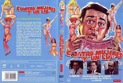 Cover, dvd, caratula: Cuatro mujeres y un lío | 1985