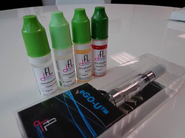 J'ai testé la cigarette électronique EGO U www.jefumelibre.com