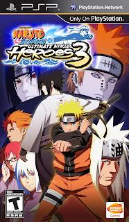 Naruto Shippūden: Ultimate Ninja Heroes 3 PSP GAME