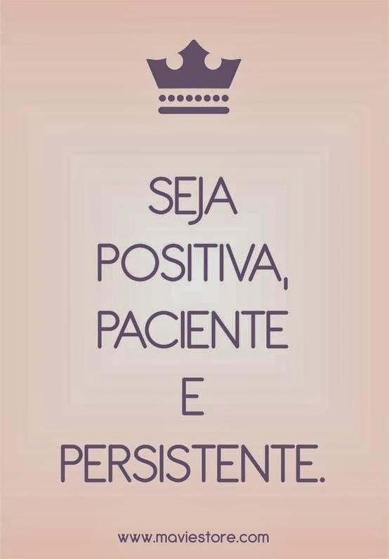 Seja positiva