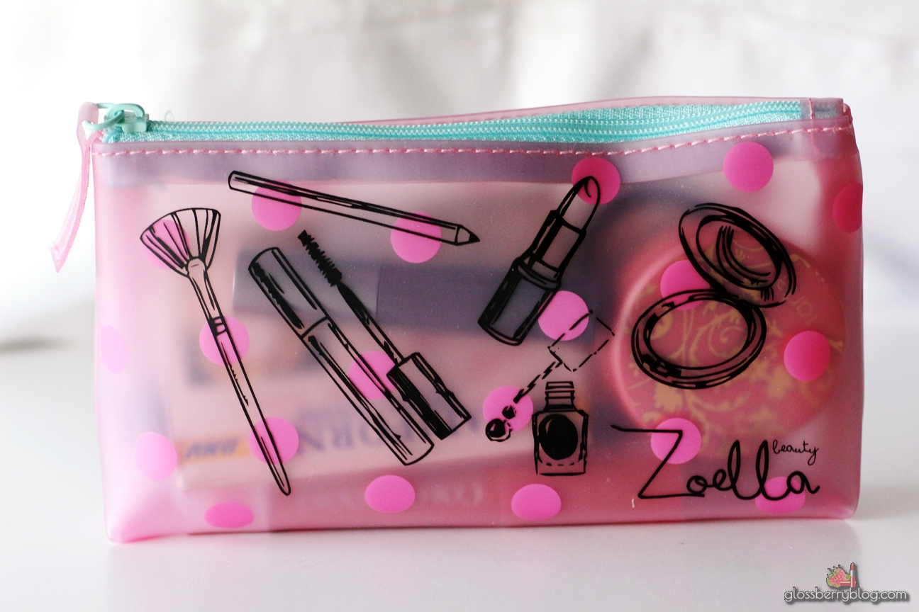 Zoella Beauty Tutti Fruity Beauty Pouch makeup bag feelunique
