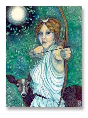 dark impulses the lunar huntress