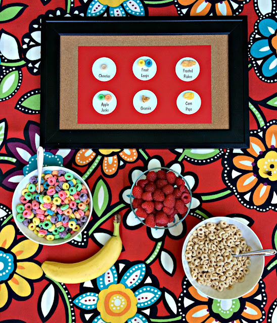 Fun Breakfast Idea, Cereal Specimen Art www.jacolynmurphy.com