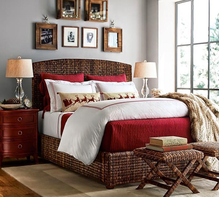 Mgc dise o de interiores dormitorios con aire navide o for Decoracion de salon navideno
