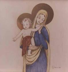 Gianna Beretta Molla - Madonna col Bambin Gesù - Mesero