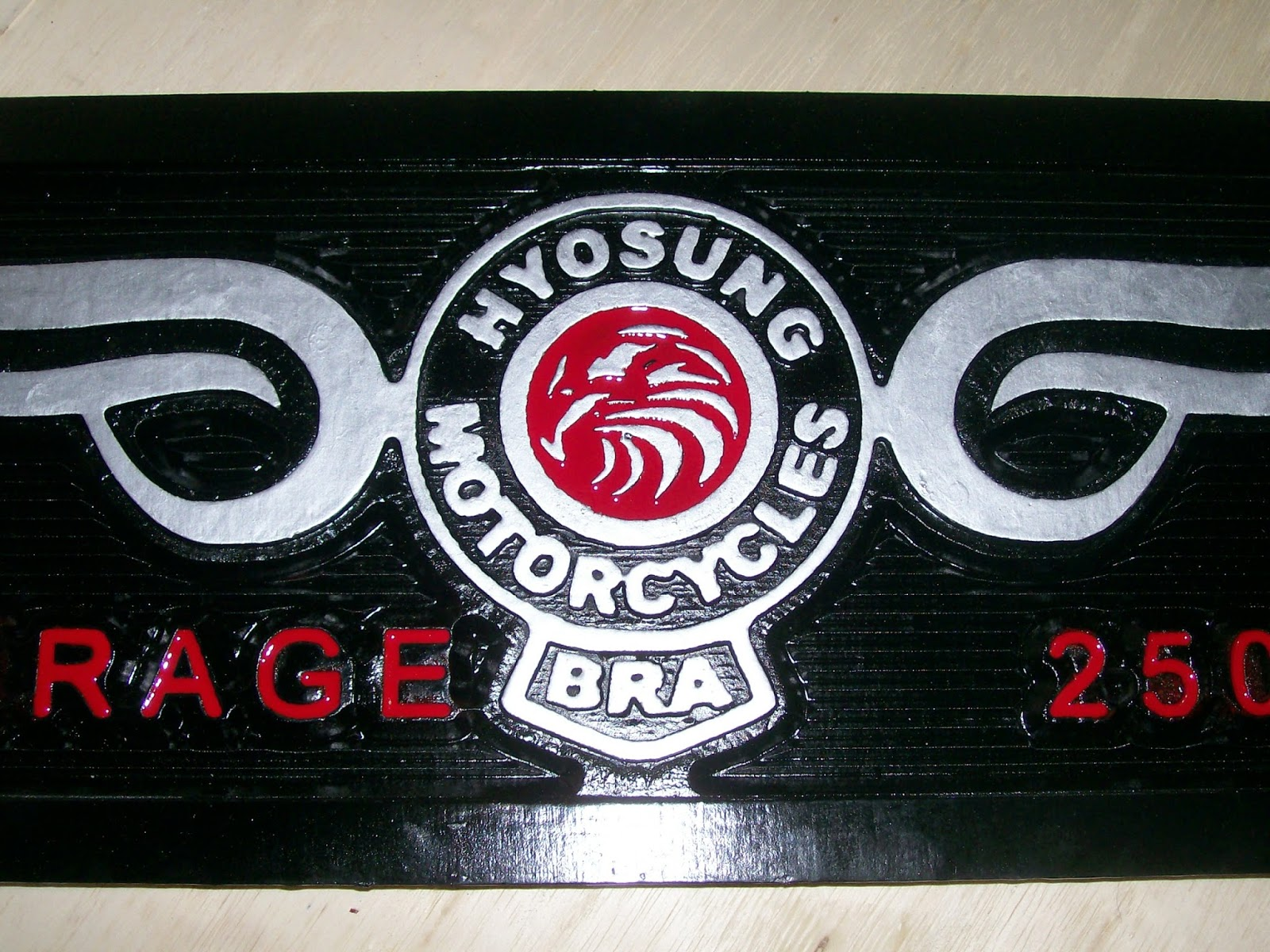hyosung placa