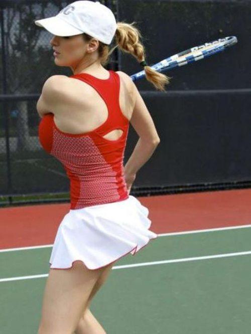 Photo Gallery Jordan Carver Doing Tennis Practice
