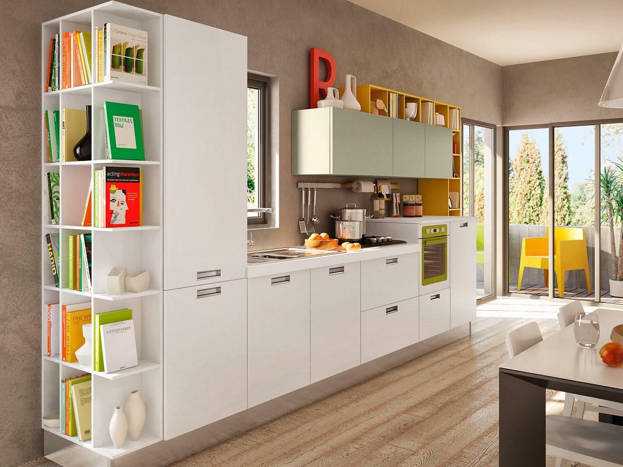 Soggiorno E Cucina Insieme: Cucina open space (foto 4/40) tempo libero ...