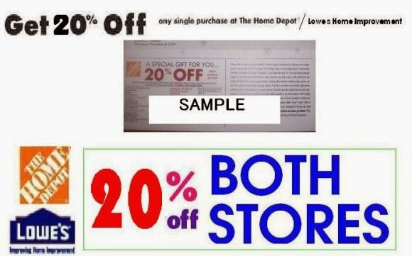 Home depot online coupon code