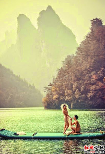 These hot china naked wedding earth wants