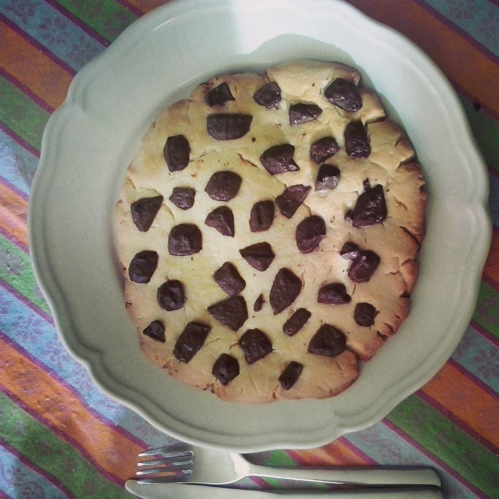 Mega-Cookie de Chocolate