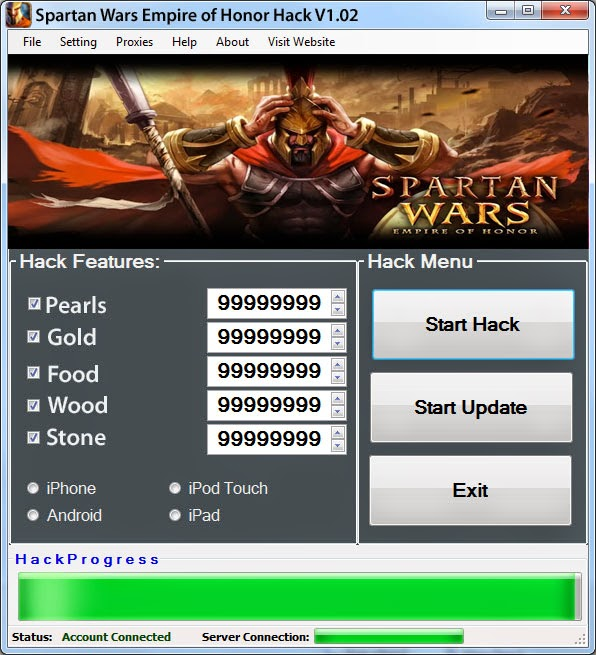Spartans wars cheats tool version for Gardening tools 94 cheats