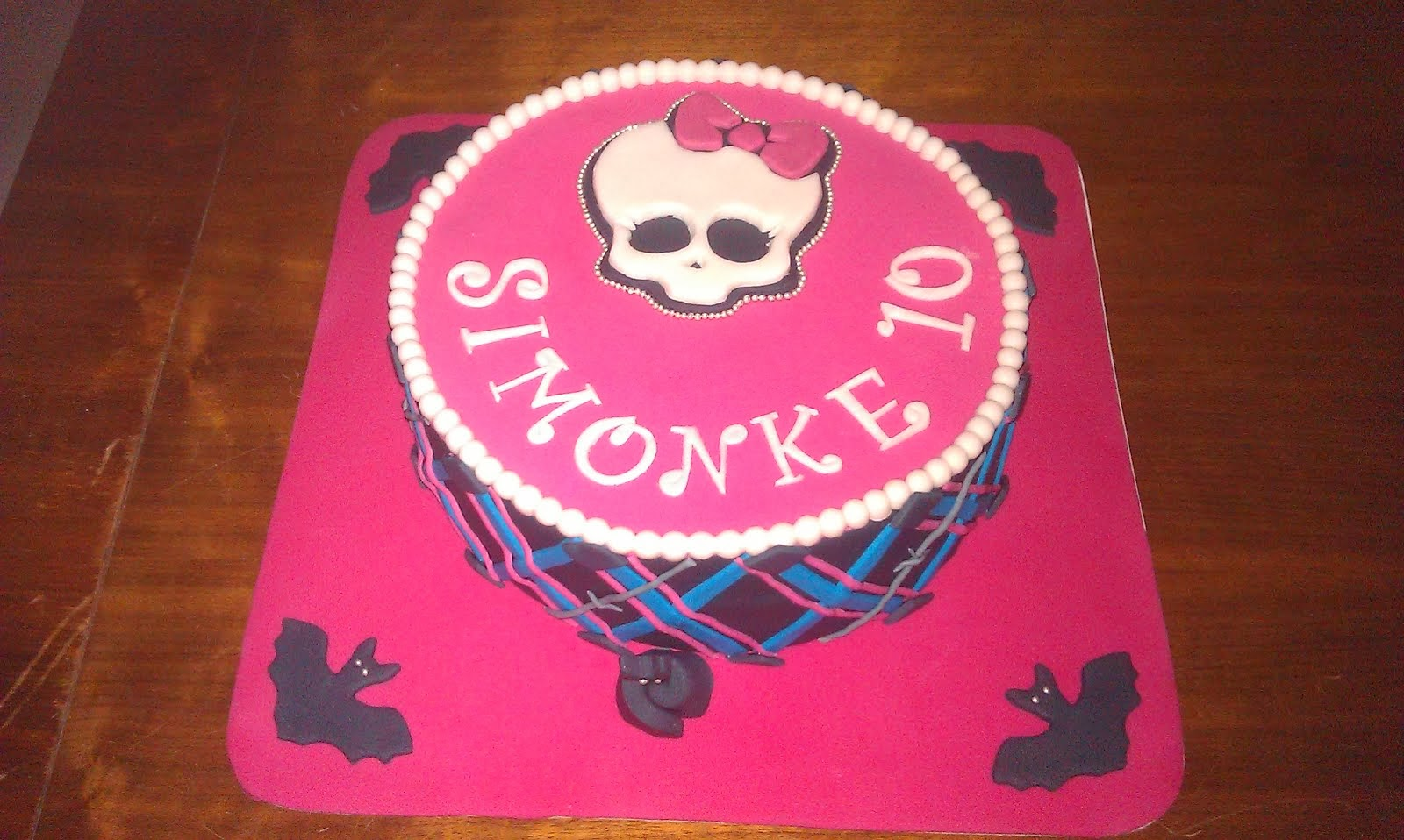 Torta Monster high 4