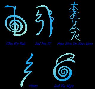 origini del reiki simboli