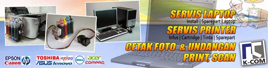 K-COM (Watampone-Bone Servis Laptop dan Printer)