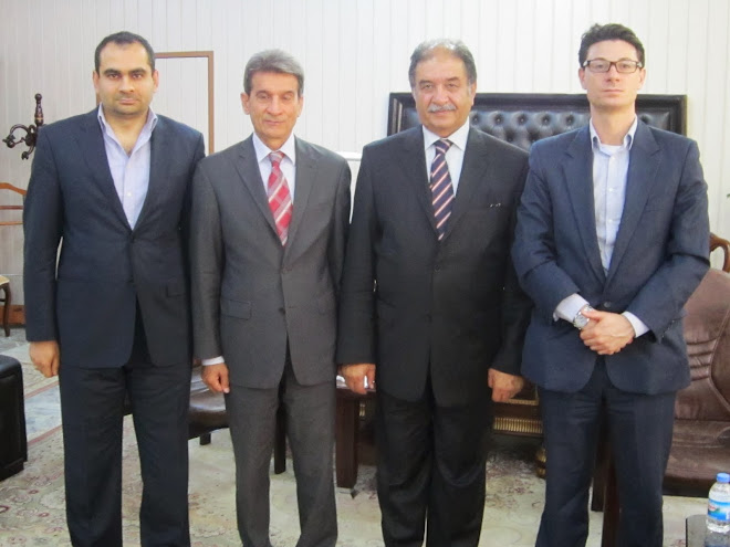 Meeting with the Chairman of the Kurdistan Investment Board Minister Herish Muharam