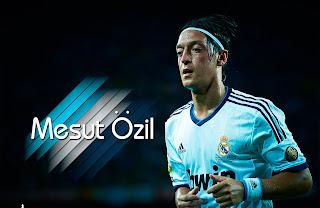 Imagen de Mesut Özil con el Real Madrid