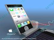 Solar baterai juga tampil pada handset, sehingga memungkinkan iPhone 6 lebih . (iphone )