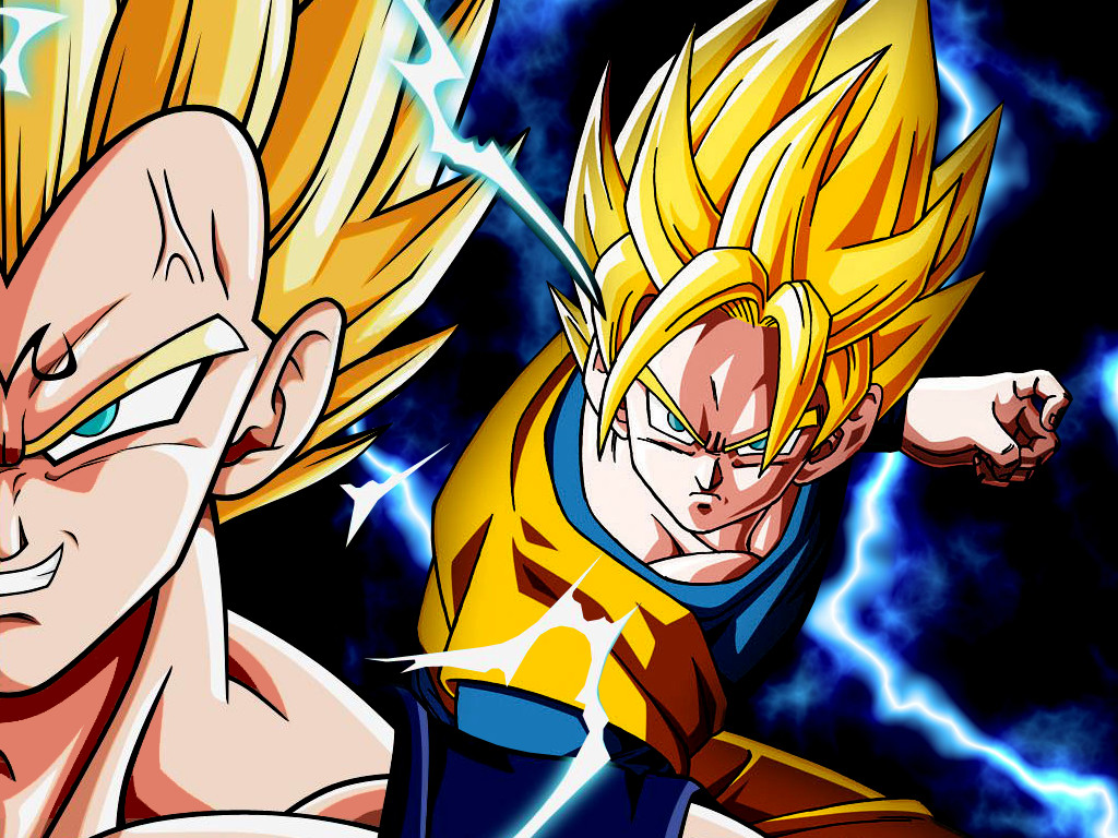 Wallpapers - Goku & Vegeta