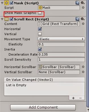 Dynamic grid in Unity3d 4.6UI