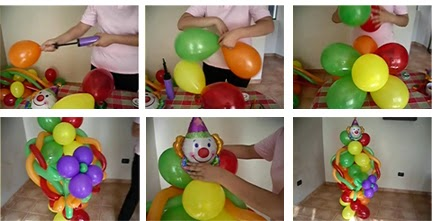 pasos de pasos de decoracin with decoracin de fiestas infantiles con globos