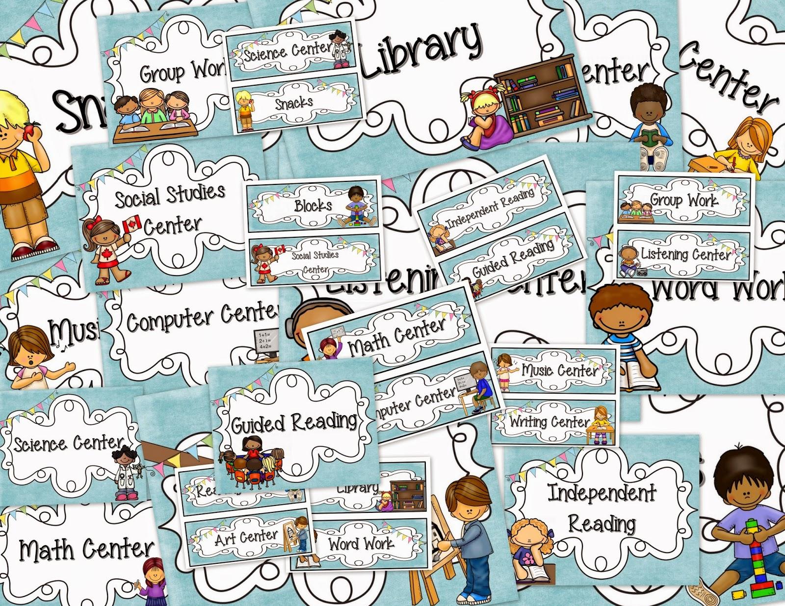 Classroom Decor Bundles ~ Teacher s lounge back to school classroom decor bundle